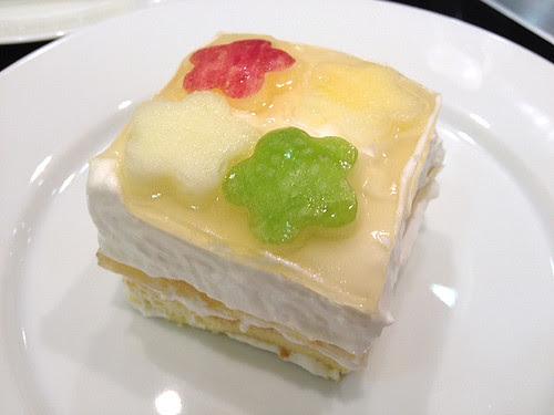 2nd Runner Up - Apple Yoghurt Mousse Cake