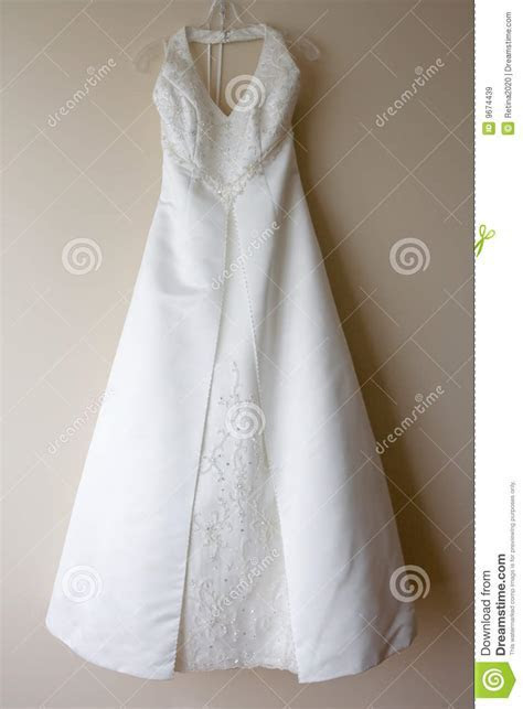 Hanging Wedding Dress Royalty Free Stock Images   Image