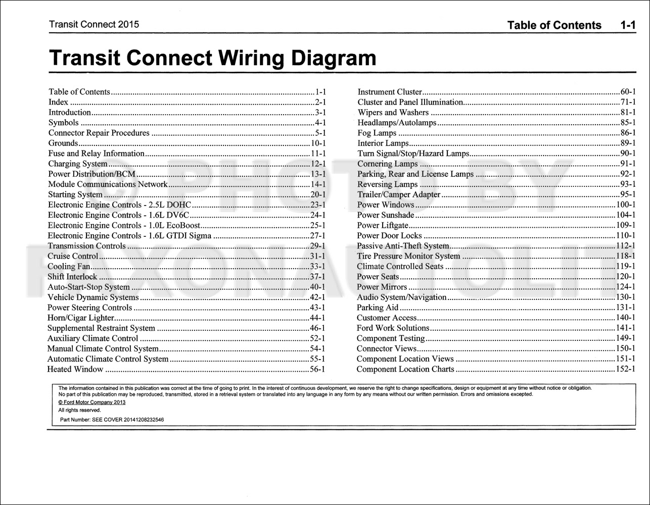 2012 transit connect wiring diagram image 10