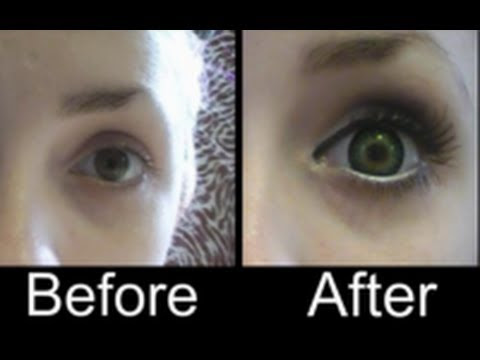 Make your eyes look bigger with contact lenses