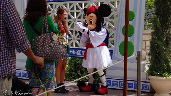 Disneyland Resort, Disneyland, Opa, Greece, Celebration, small world mall, Mickey Mouse