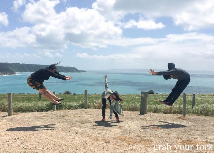 Dragon Ball Z jumping photo!