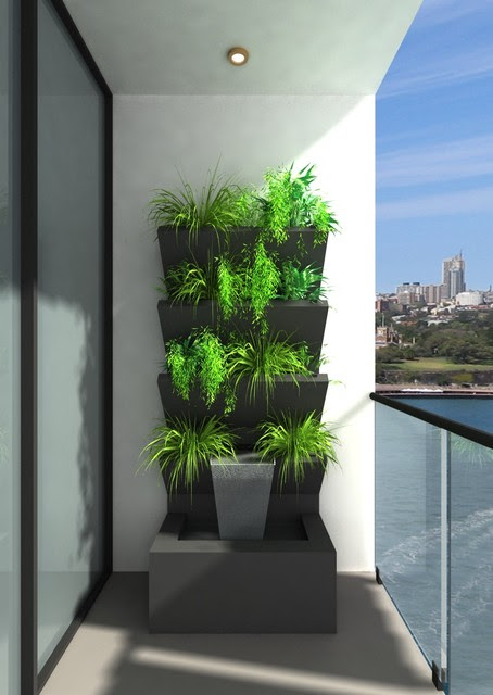 VWALL Vertical Planter Boxes - - outdoor decor - melbourne - by ...