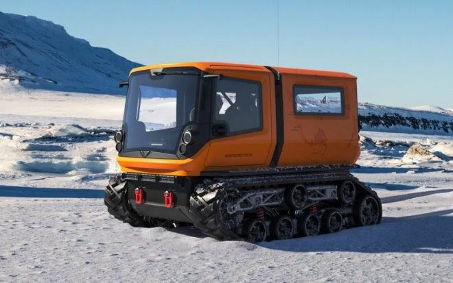 Электровездеход Venturi принесет в Антарктиду чистоту и «нулевые выбросы»
