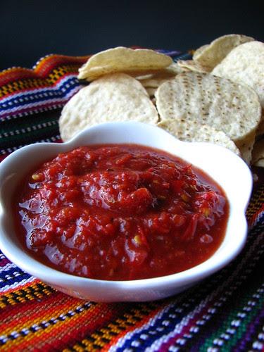 Habanero Garlic Salsa