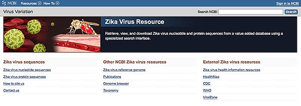 Zika virus resource