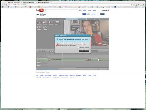 YouTube - WeVideo Export
