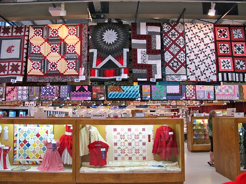 at the fair: quilts