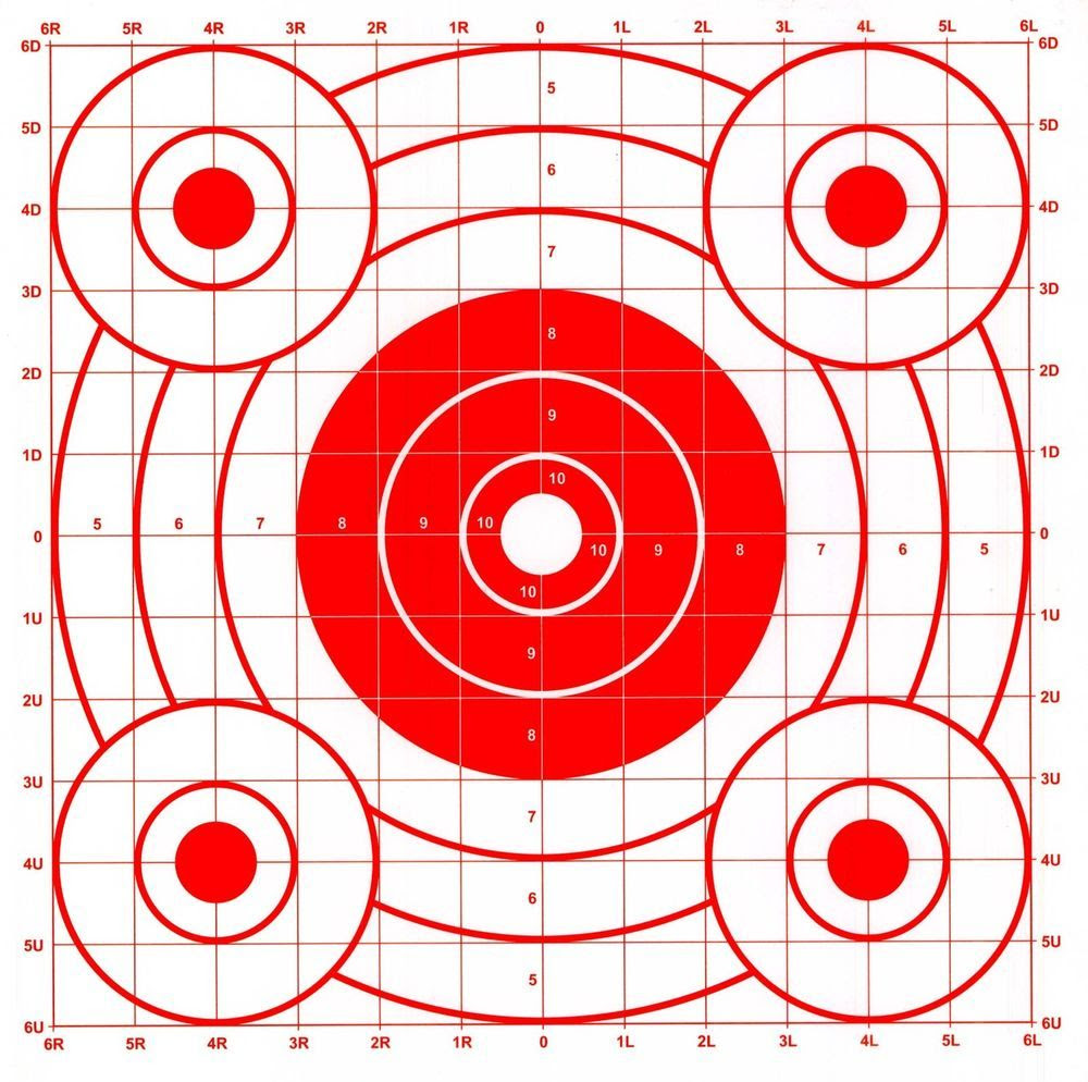 This is a picture of Effortless Printable Bb Targets