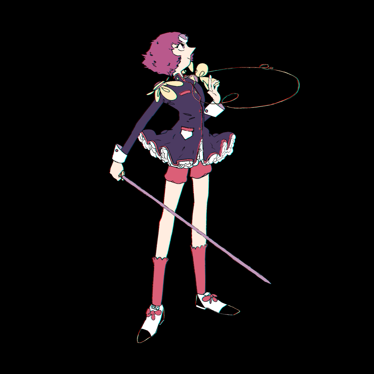 @riibrego This is it! I love watching Revolutionary Girl Utena so I did an au thing for Pearl.Your awesome pearls really inspired this :D