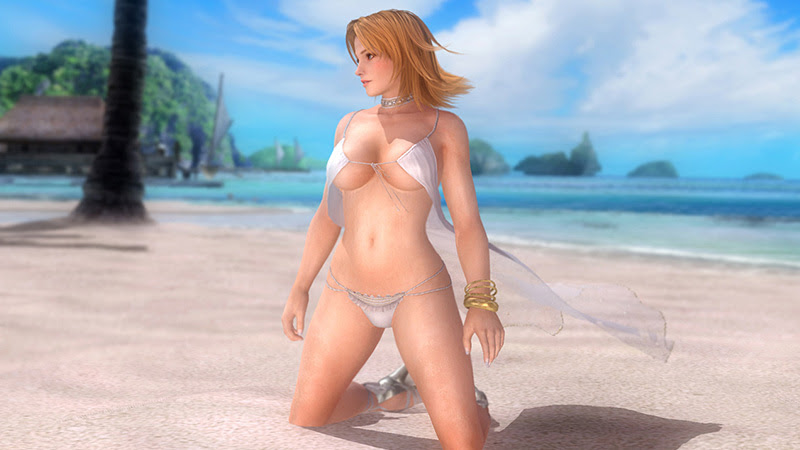 dead or alive 5 ultimate tropical sexy costumer