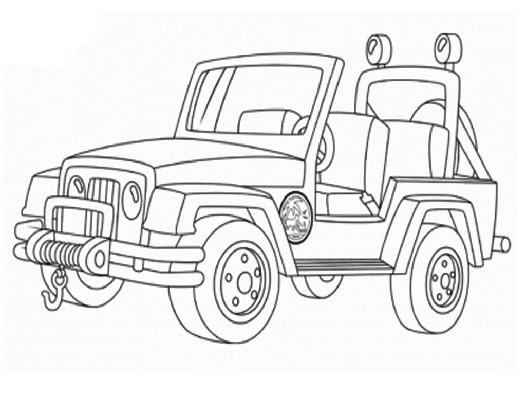 Jeep Logo Pages Printable Coloring Pages