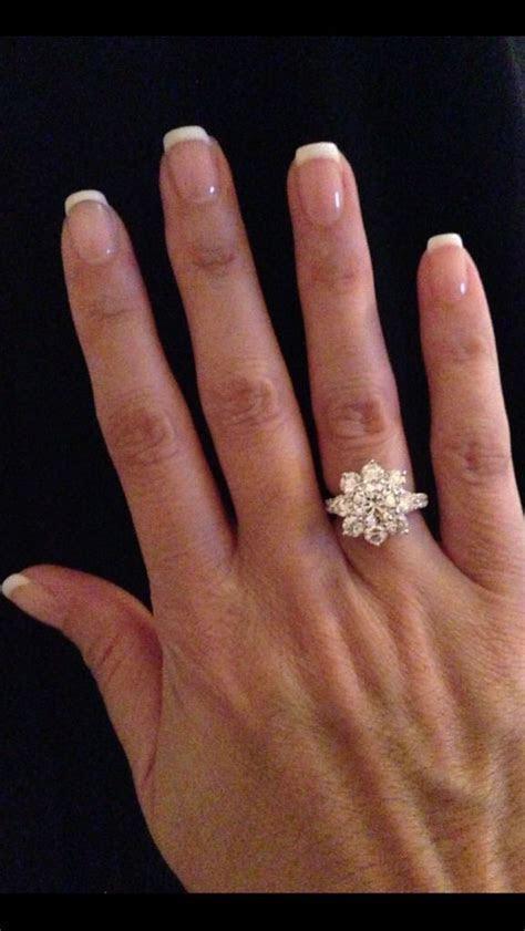 Harry Winston Large Sunflower Ring   Diamonds in 2019
