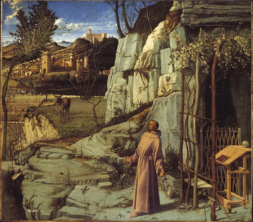 St. Francis in the Desert, Giovanni Bellini, 1480
