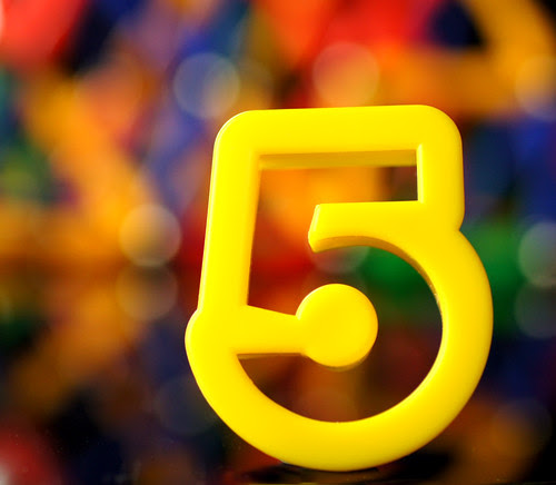 Number 5 brought to you by ... bokeh!