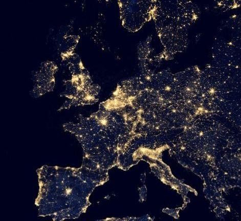 Earth At Night Erde Bei Nacht In Google Maps