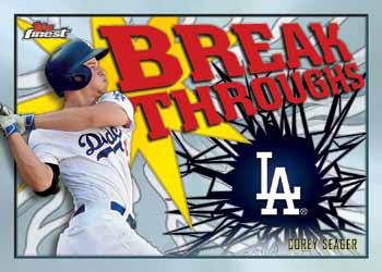 2017 Topps Finest Baseball Break Throughs