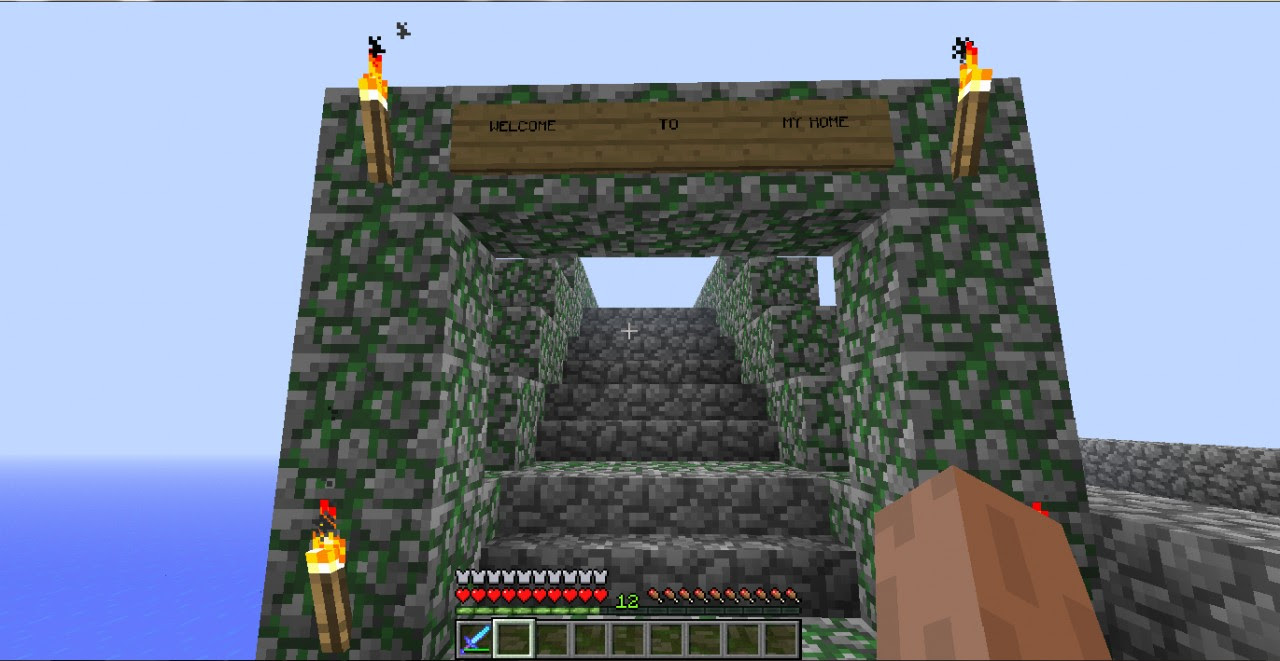 Moeiizz97 house with garage and road task ! 1.1 Minecraft ...