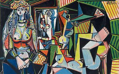 Les femmes d'Alger, Picasso, version O.jpg