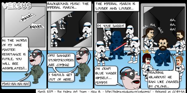 [fedora webcomic: versus]