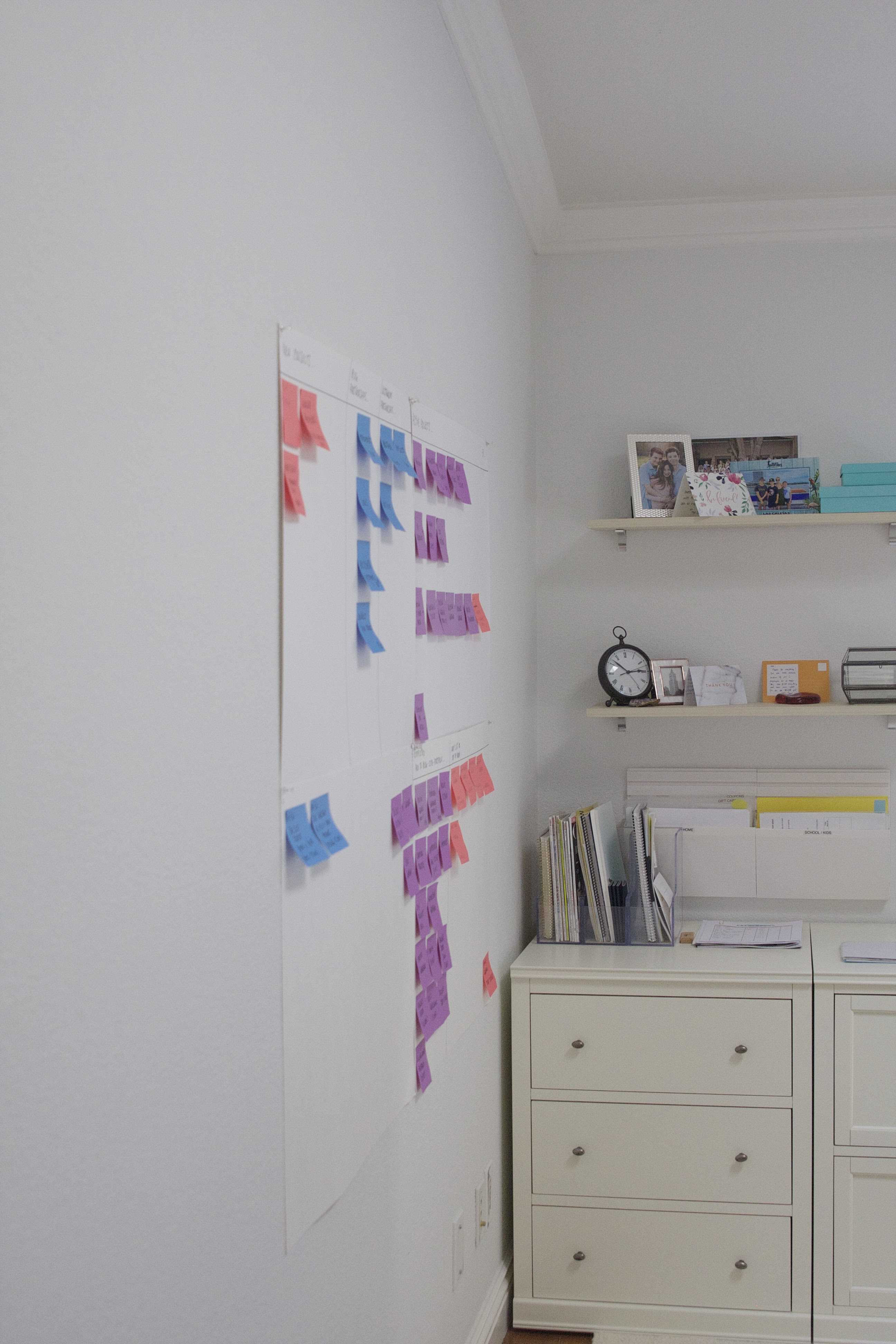 Diy Post It Project Wall Manager Simply Organized