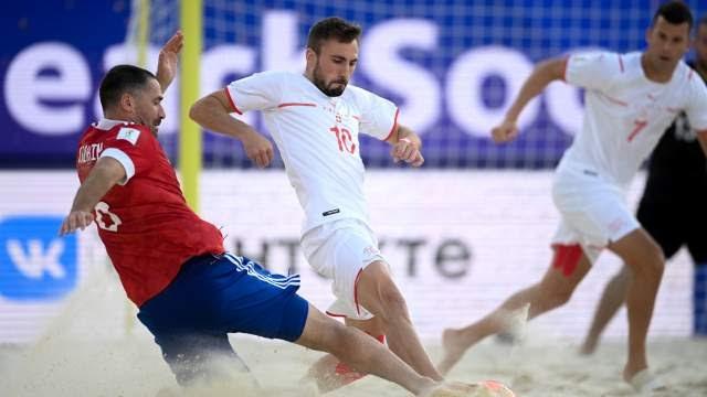 Швейцарская часть: Россия — в финале пляжного ЧМ