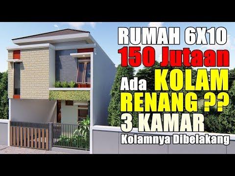 6x10 meter denah rumah ukuran 6x10 3 kamar - berbagai ukuran