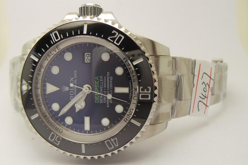 Rolex Sea-Dweller Deepsea D-Blue Dial Bezel