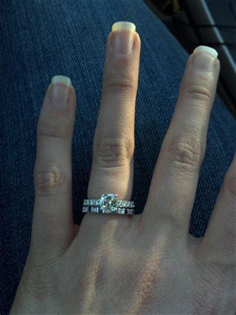 Sapphire or Ruby Wedding Band???   Weddingbee