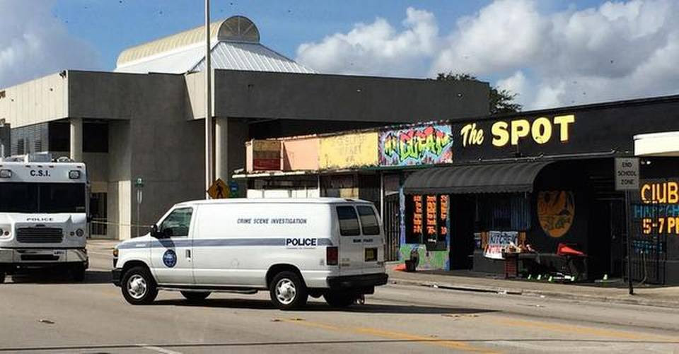 Miami police are investigating a shooting at the club early Sunday that sent more than a dozen people to the hospital.