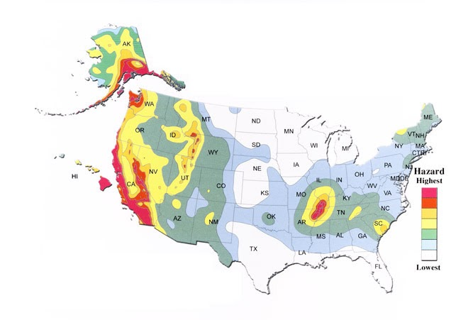 Oil Is Mastery 5 Most Dangerous Earthquake Hotspots Beyond California