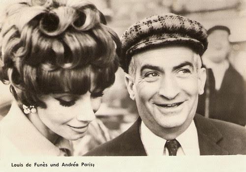 Louis de Funès, Andréa Parisy