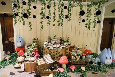 Totoro Birthday Party Ideas   Photo 1 of 11   Catch My Party