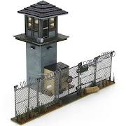 Mcfarlane Toys The Walking Dead, Prison Tower & Gate
