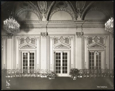 Fine Art Print of Ballroom at the Coplay Plaza hotel, Boston, 1912 or 1913 by Byron Company