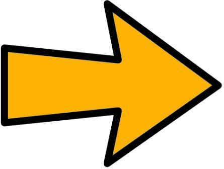 Attache flèche jaune