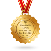 TERPILIH DALAM TOP 20 MALAYSIAN PARENTING BLOG