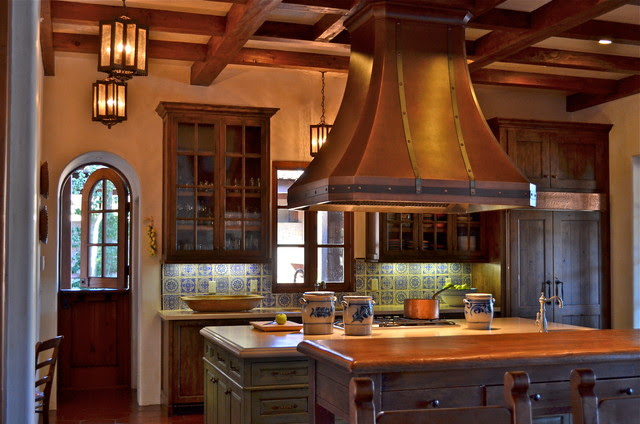 Spanish style home - traditional - kitchen - san francisco - by