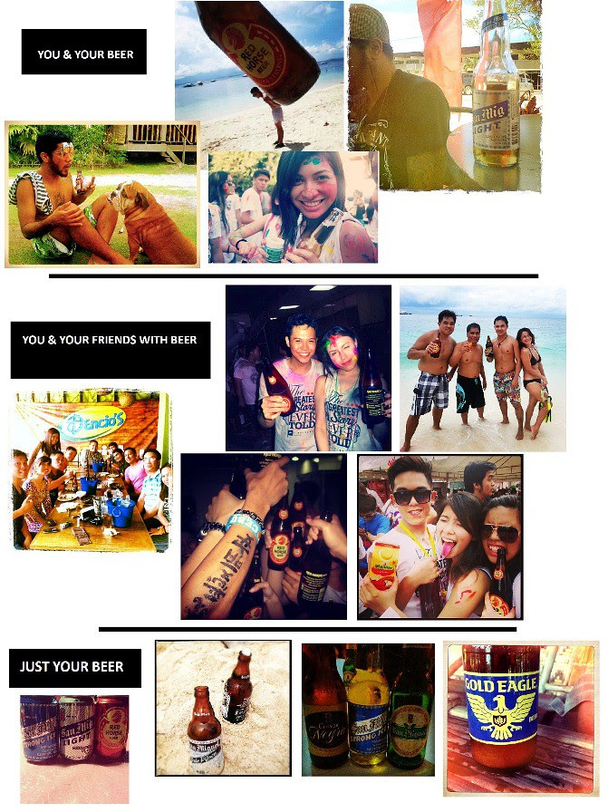 Sample Instagram Entries for SMB #HappyClick