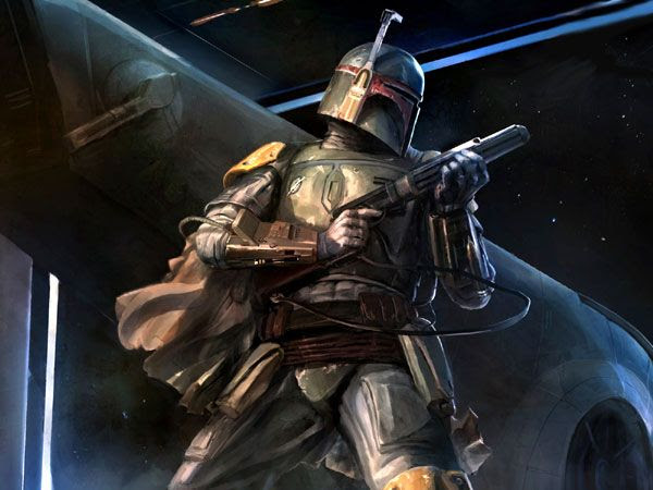 Boba Fett artwork #1.