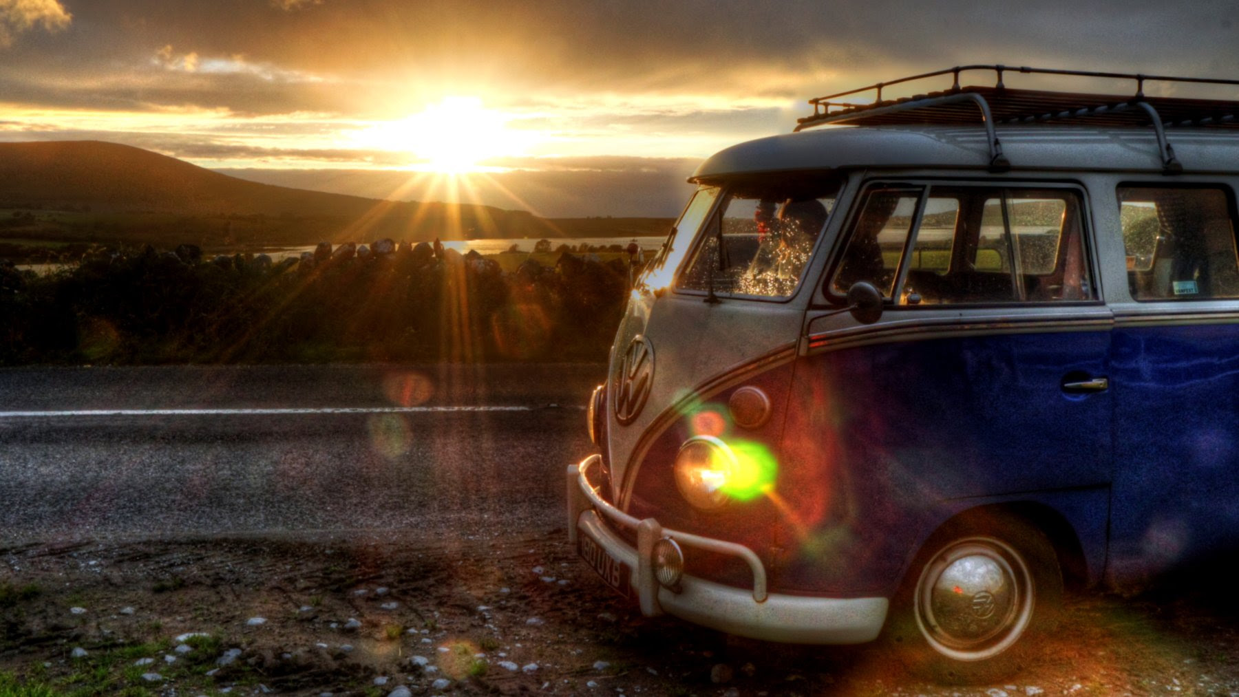 Sunset Vw Combi Car Like Wallpapers