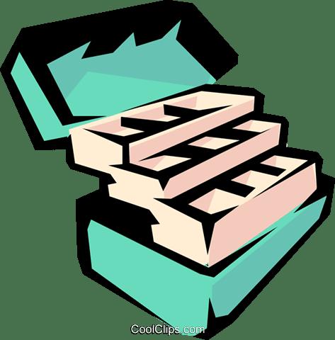 Download Fishing Tackle Box Royalty Free Vector Clip Art Illustration Spor0140 Coolclips Com