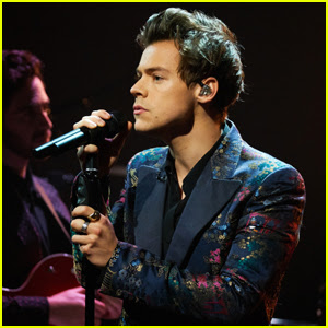 Harry Styles Takes the 'Late Late Show' Stage to Perform 'Carolina' - Watch Now!