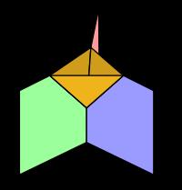 Spin-Schaum durch zeitlich (t) diskretes Fortschreiben eines Netzwerkes
