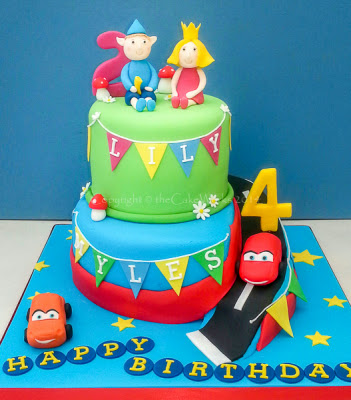 4th Birthday Cake For Brother And Sister Boys Cakes Childrens