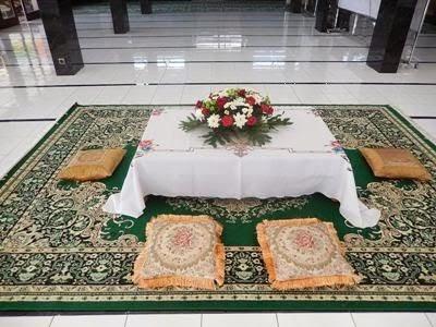 25+ inspirasi keren dekor akad nikah di masjid - stylus point