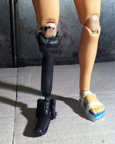 Pilot's Peg-leg