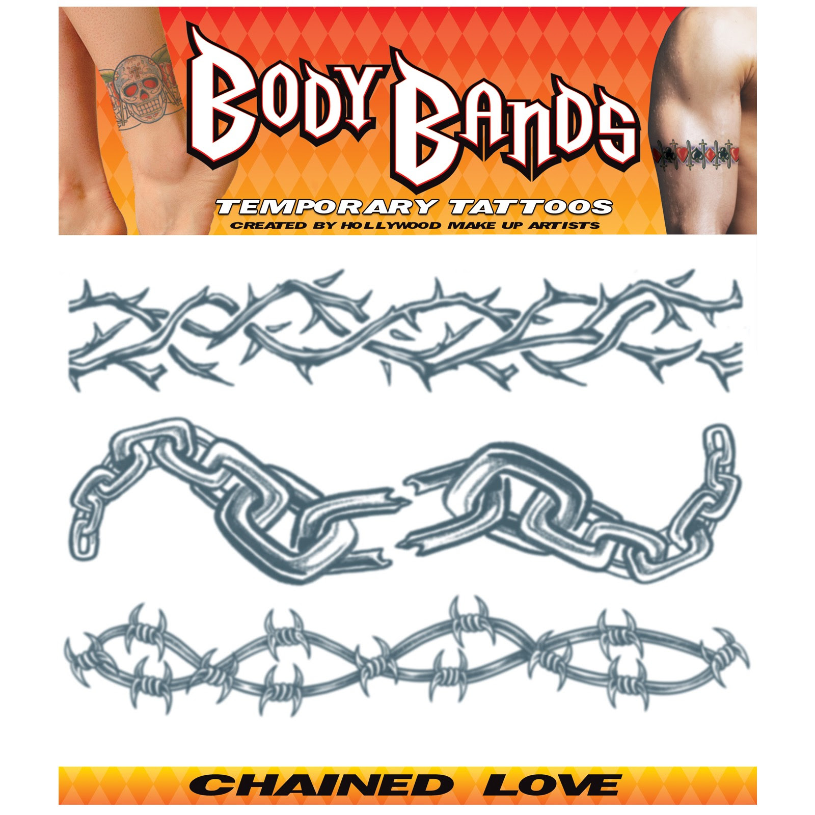 Bicycle Chain Tattoo Design