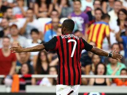 Autor de gol neste sábado, brasileiro esteve perto de deixar a Itália Foto: AFP