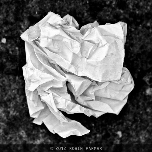perturbation / paper / crumpled